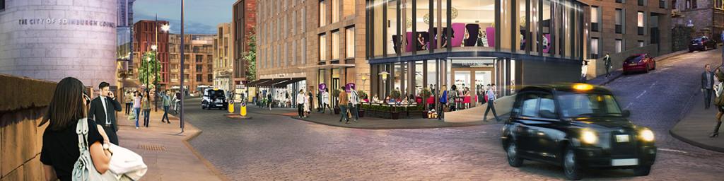 Caltongate Development, Edinburgh